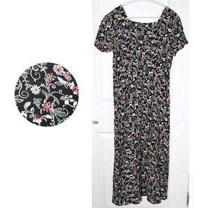 Rampage Vintage 90s Y2K Floral Maxi Dress